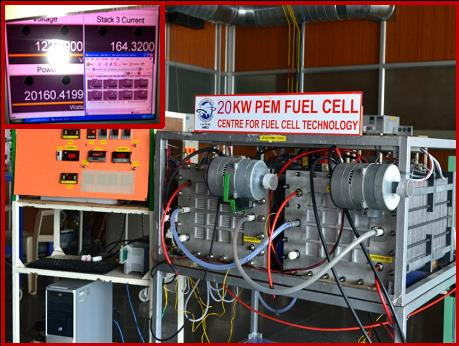 ARCI - Centre for Fuel Cell Technology (CFCT) - Programmes